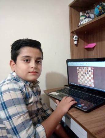 بازیکنان برتر مسابقه شطرنج آنلاین زیر 16 سال شهرستان ملارد به مناسبت هفته دفاع مقدس