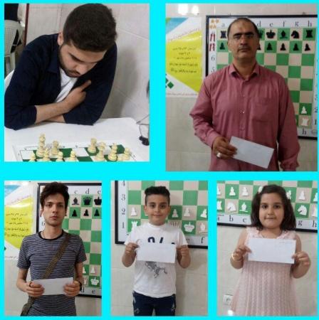 گزارش نهایی مسابقه هفتگی  شطرنج بیست و هفتم اردیبهشت ماه نود و هشت هیئت شطرنج ملارد