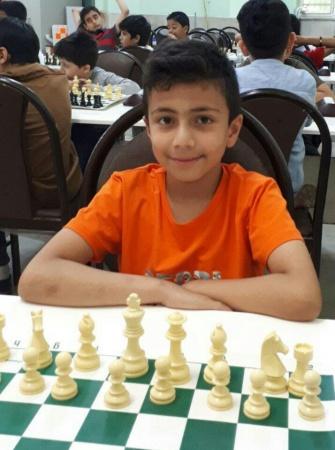 امیر حسین محمدی مقام پنجم مسابقات شطرنج سریع زیر 10 سال کشور