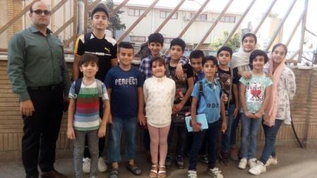 حضور بازیکنان شهرستان ملارد در مسابقات قهرمانی رده سنی استان تهران