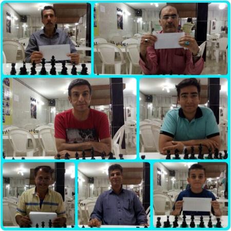 بازیکنان برتر مسابقه ویژه عید قربان به میزبانی هیئت شطرنج شهرستان ملارد
