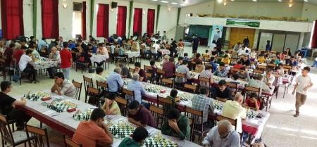 حضور بازیکنان شهرستان ملارد در مسابقات شطرنج جام شهید حججی نجف آباد اصفهان