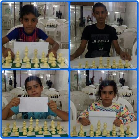 بازیکنان برتر مسابقه شطرنج  هفتگی سطح مبتدی و متوسطه شهرستان ملارد و مدرسه شطرنج امیران
